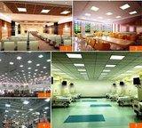 36W LED paneel basic 60x60cm witte rand 3000k/warmwit _