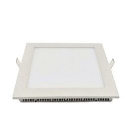 18W LED downlight inbouwpaneel vierkant 225x225mm 2800k/warmwit