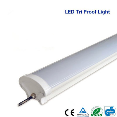 LED Tri-proof Lamp Basic 150cm 55Watt IP65 3000k/warmwit