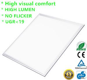 LED Paneel supreme UGR 19 36w 60x60cm wit rand 3000k/warmwit