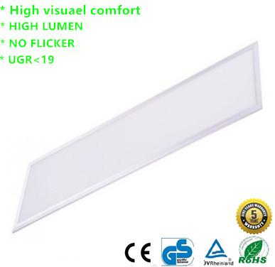 LED Paneel supreme UGR 19 36w 120x30cm URG 19 witte rand 6000k/daglicht