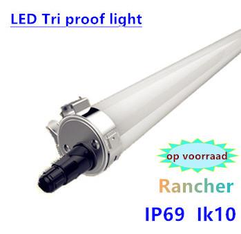 LED Tri-proof Light rancher prof. Rond 150cm 45W- 5000k daglicht