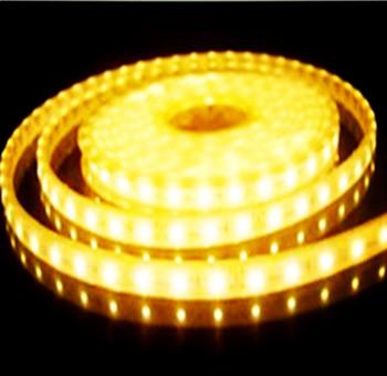 LED STRIP 24v  SMD 5050 60 LEDs/m 2700k/warmwit 5 meter rol  *IP20