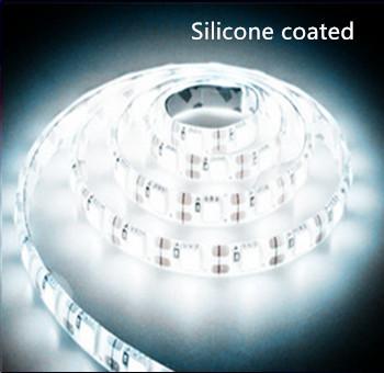 Silicone LED strip 24v  SMD 5050 60 LEDs/m 6000k/daglicht 5 meter rol