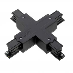 X-VORM CONNECTOR 3 fase zwart