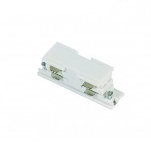I-vorm interne connector  *3 fase rail - wit