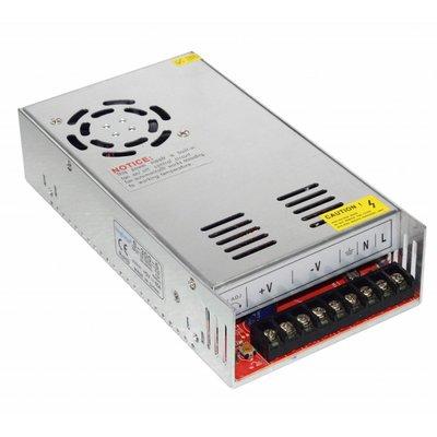 LED STRIP POWER SUPPLY SLIM 360W 24V 15A - METAL