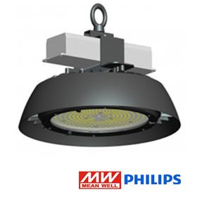 UFO LED high bay lamp 100w 135lm/w 4500k/Neutraalwit *dimbaar