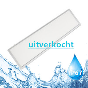 LED paneel waterproof 120x30cm 40w 5000k/daglicht IP67 Meanwell driver