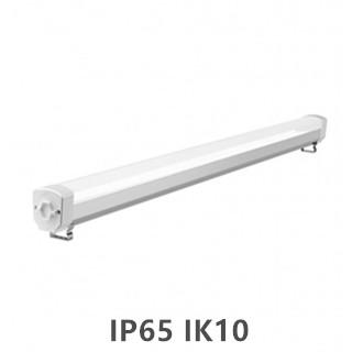 LED Tri-proof light  Prof. ALU.  150cm 60w 4000k/neutraalwit IP65 IK10
