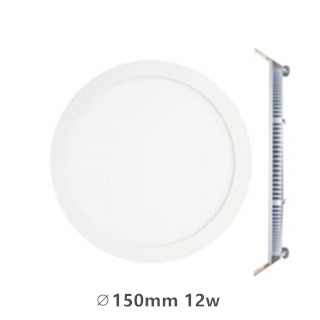 LED downlight inbouwpaneel rond Excellence 12w 3000k/warmwit