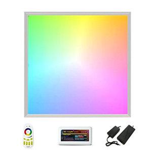 LED Paneel 60x60cm RGB-WWW 36w complete set