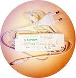 LED Paneel 60x60cm Basic complete incl. Netsnoer 6000k/daglicht_