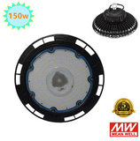 150w LED HIGH BAY LIGHT UFO 4000K/Neutraalwit *Meanwell driver_