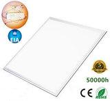 LED Paneel 60x60cm complete Premium incl. Netsnoer 3000k/warmwit *Flikker vrij_