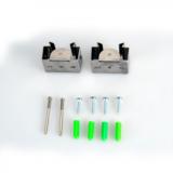 LED Tri-proof light koppelbaar + Sensor 150cm 50w 4000k/neutraalwit IP66 IK10_