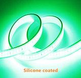 Silicone LED STRIP Groen 12v  SMD 2835 60 LEDs/m  5 meter rol  _