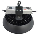 UFO LED high bay lamp 100w 135lm/w met REFLECTOR 60° 5500k/daglicht *dimbaar_