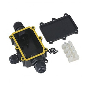 Waterproof IP68 lasdoos 3-voudig