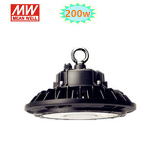 200w LED HIGH BAY LIGHT UFO 4000K/Neutraalwit*Meanwell driver