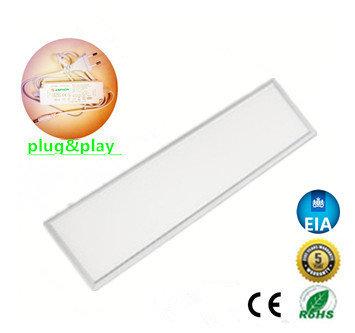LED Paneel 120x30cm complete Premium incl. Netsnoer 32W 6000k/daglicht *Flikker vrij