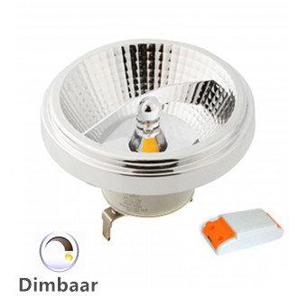 LED AR111 G53 SPOT 45° DIMBAAR 12W 2700k/Warmwit