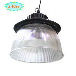 LED high bay lamp met PC REFLECTOR 75° 240w 4000k/Neutraalwit *Meanwell driver