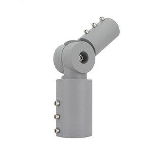 Adapter verstelbaar 90º VOOR STRAATVERLICHTING - Grijs