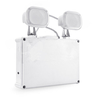 Twinspot led noodverlichting 2x6W IP65