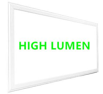 HIGH LUMEN LED paneel 60x120cm 60w witte rand 6000K/daglicht