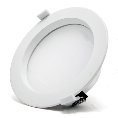 LED downlight COB prof. 9w 3000k/warmwit ∅130mm
