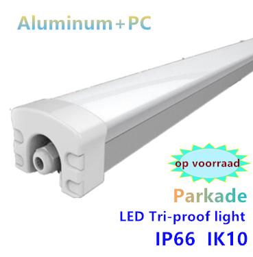 LED Tri-proof light Parkade prof. Alu 150cm 60w - 5000k daglicht