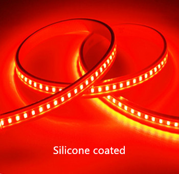 Silicone LED STRIP Red 12v  SMD 2835 60 LEDs/m  5 meter  roll