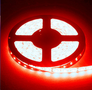 LED STRIP 12v  SMD 5050 Rood 60 LEDs/m  5 meter rol