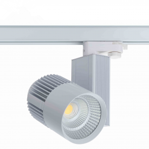 3 FASE LED RAILSPOT Prof. 40w WHITE BODY 4000k/Neutraalwit