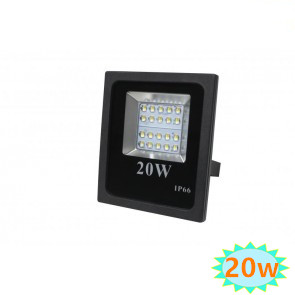 LED FLOODLIGHT Basic IP65  20W 4000K Neutraal wit