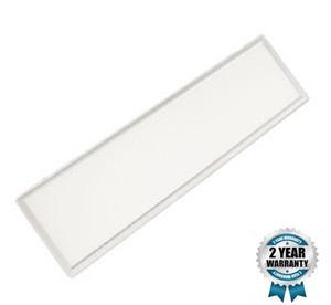 36W LED paneel Basic 120x30cm witte rand 3000k/warm wit