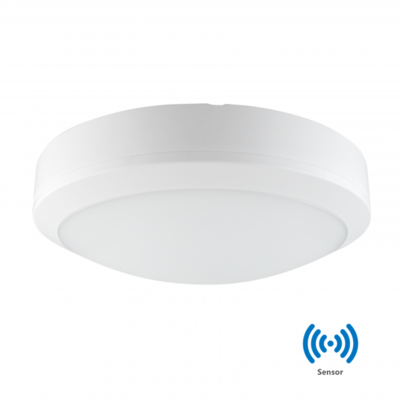 LED PLAFONDLAMP met Sensor 30cm IP65 20W 4000k/Neutraalwit