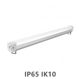 LED Tri-proof light  Prof. ALU.  150cm 60w 6000k/koelwit IP65 IK10