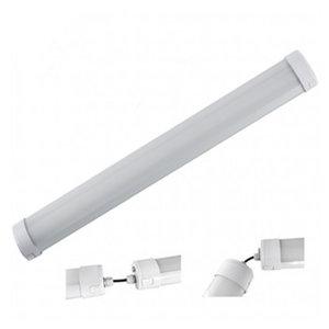 LED Tri-proof light koppelbaar + Sensor 150cm 50w 4000k/neutraalwit IP66 IK10
