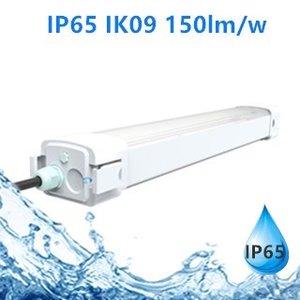 LED Tri-proof Light Parkade 150cm 60w 5500k/Daglicht IP65 IK09 flikkervrij