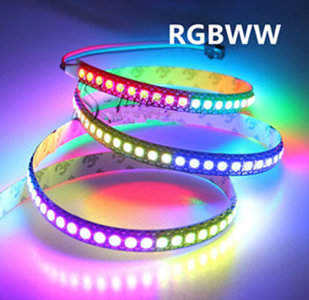 LED STRIP RGBW 12v SMD 5050 60 LEDs/m 5 meter rol * IP22