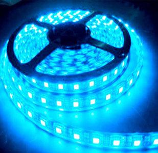 LED STRIP 12v SMD 5050 blauw 60 LEDs/m  5 meter rol